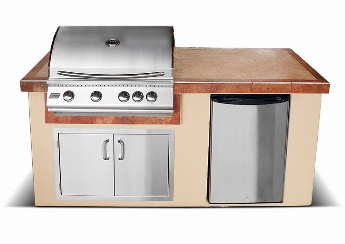 Gas lights gas grills outdoor kitchens for Outdoor kitchen equipment