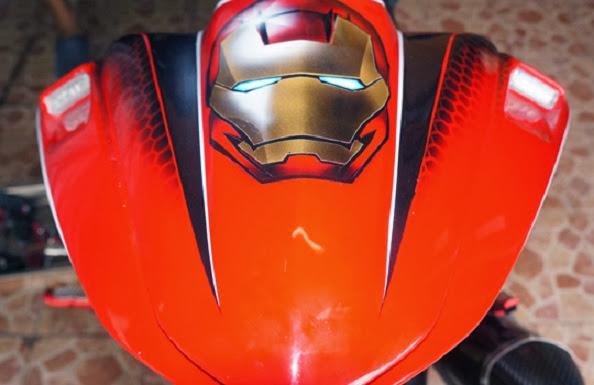 Kawasaki Ninja 250 Fi Model Iron Man Modf