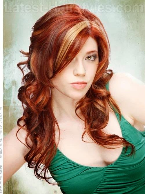 hairstyle elibrodepoesia: medium length red hairstyles for women