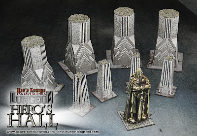Kev's Lounge Dungeon: Hero's Hall Pillars