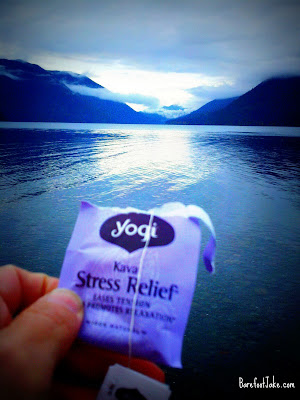 Lake crescent tea