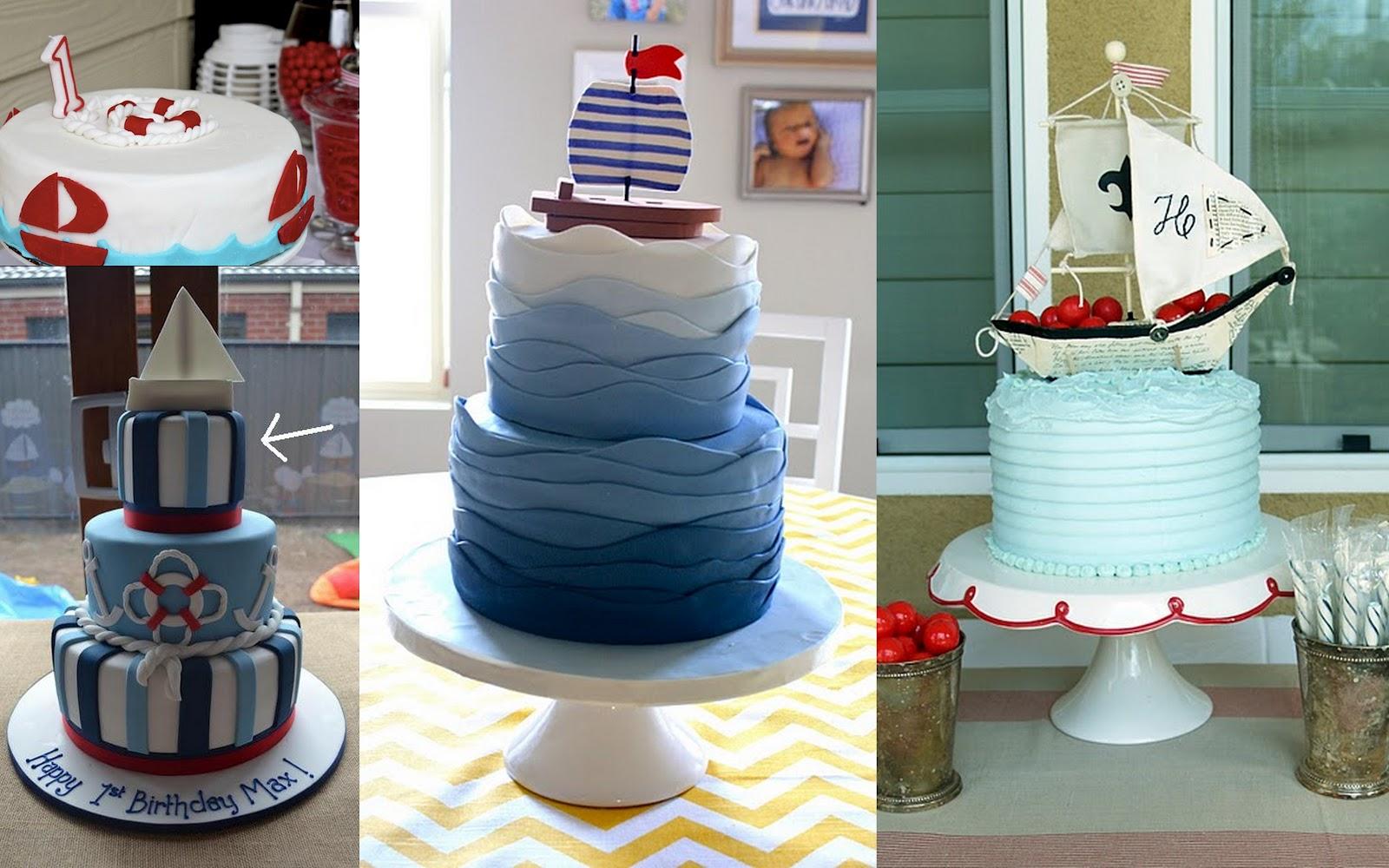 Pin algunos detalles de la decoraci n estilo marinero cake - Decoracion estilo marinero ...