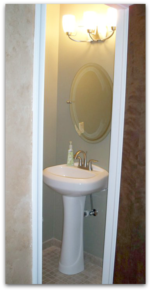 Half-Bath Renovation on Before & After Envy Series | Tried & Twisted