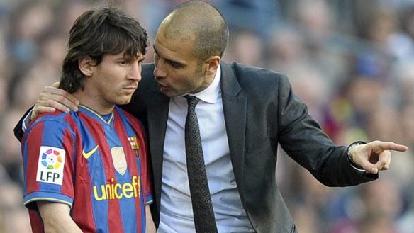 ¡A la luz! primera charla de Guardiola en el Barça