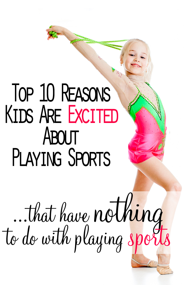 Top 10 Reasons Kids Are Excited About Playing Sports by Robyn Welling @RobynHTV
