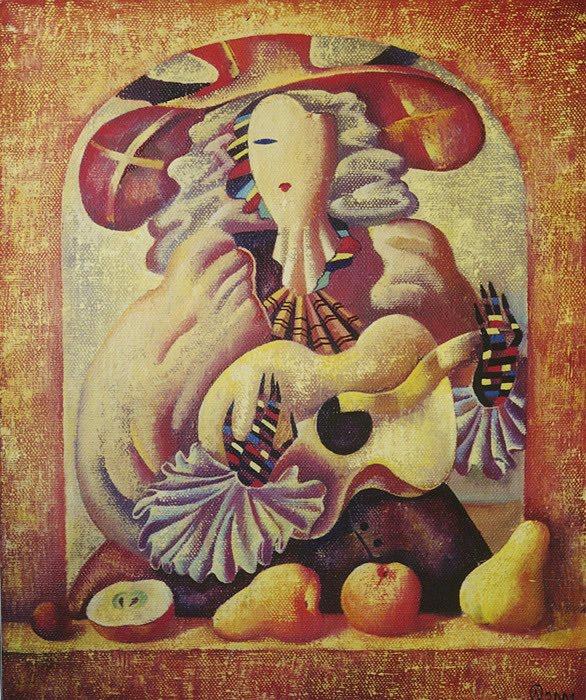 Olga Naletova painting