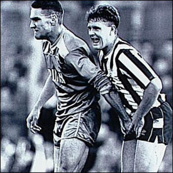 Vinnie Jones was a soccer tough guy before he was a Hollywood tough guy