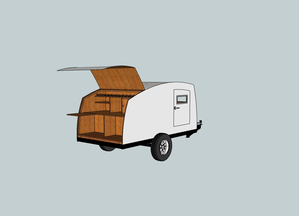 ... Freight Teardrop C er Plans. on homemade camper utility trailer plans