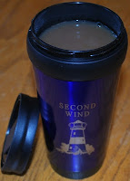 Boat name travel mug