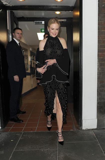 Actress @ Nicole Kidman Leaving Claridges Hotel