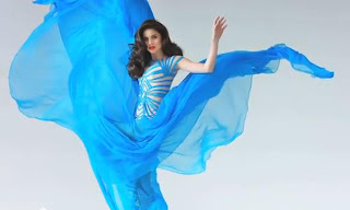 Anne Curtis wears Francis Libiran for America's Next Top Model