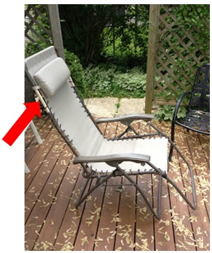A Zero Gravity Lounge Recliner Deck After Adaptation For Tall People