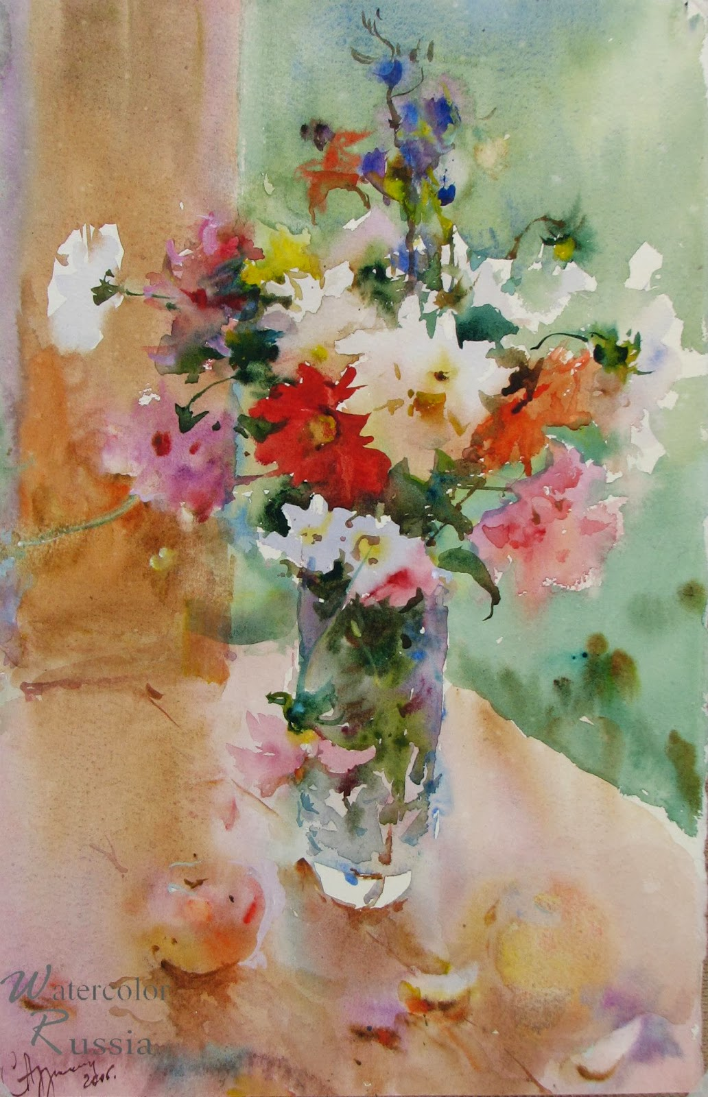 Art Of Watercolor: Some of the Russian Watercolors
