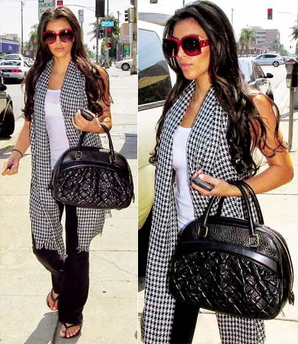 Fashion icon Kim Kardashian