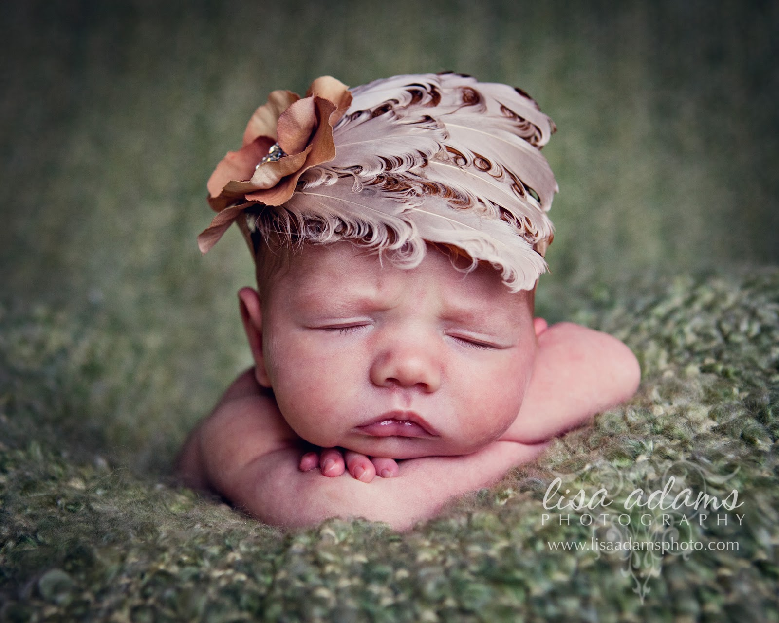 cute newborn baby girl