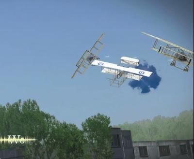 História da Aviação em animação 3D