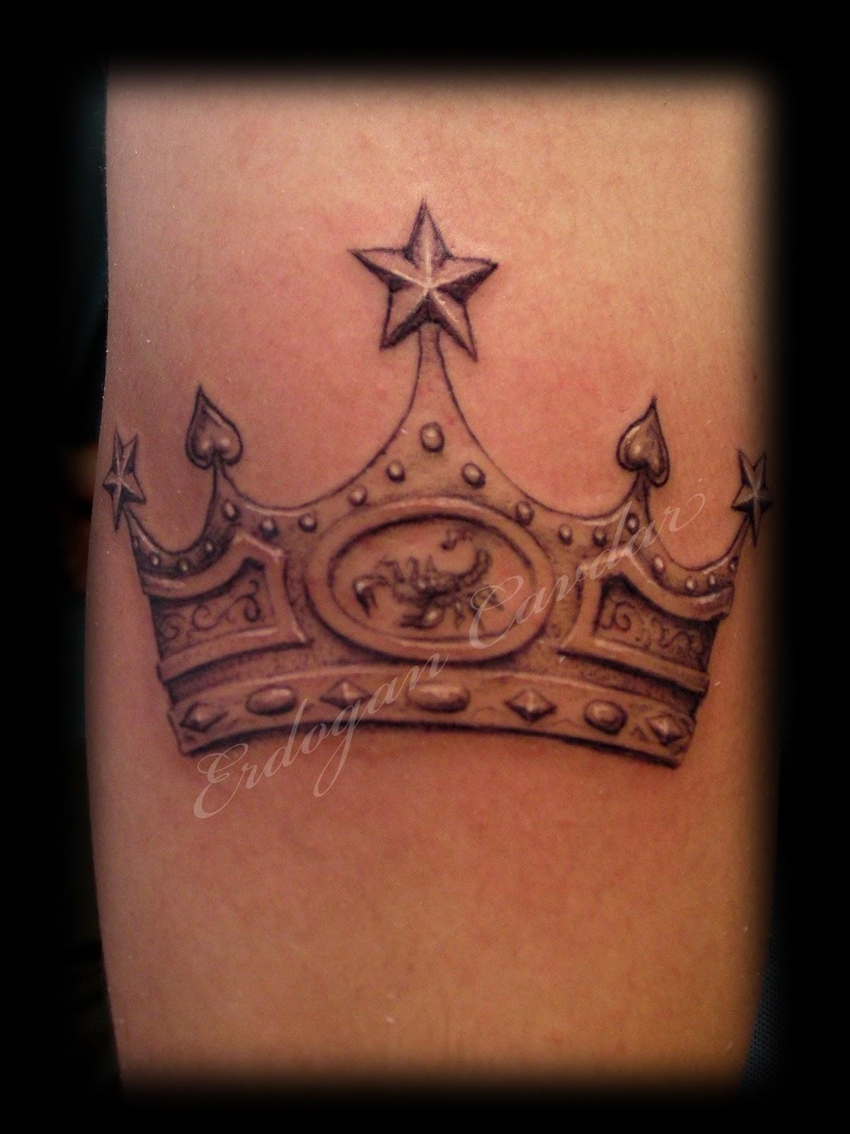 Татуировка корона рисунок фото