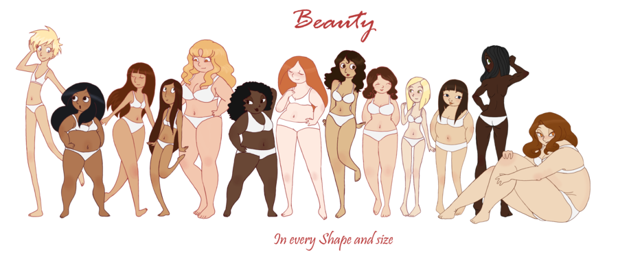 Beauty in every shape and size