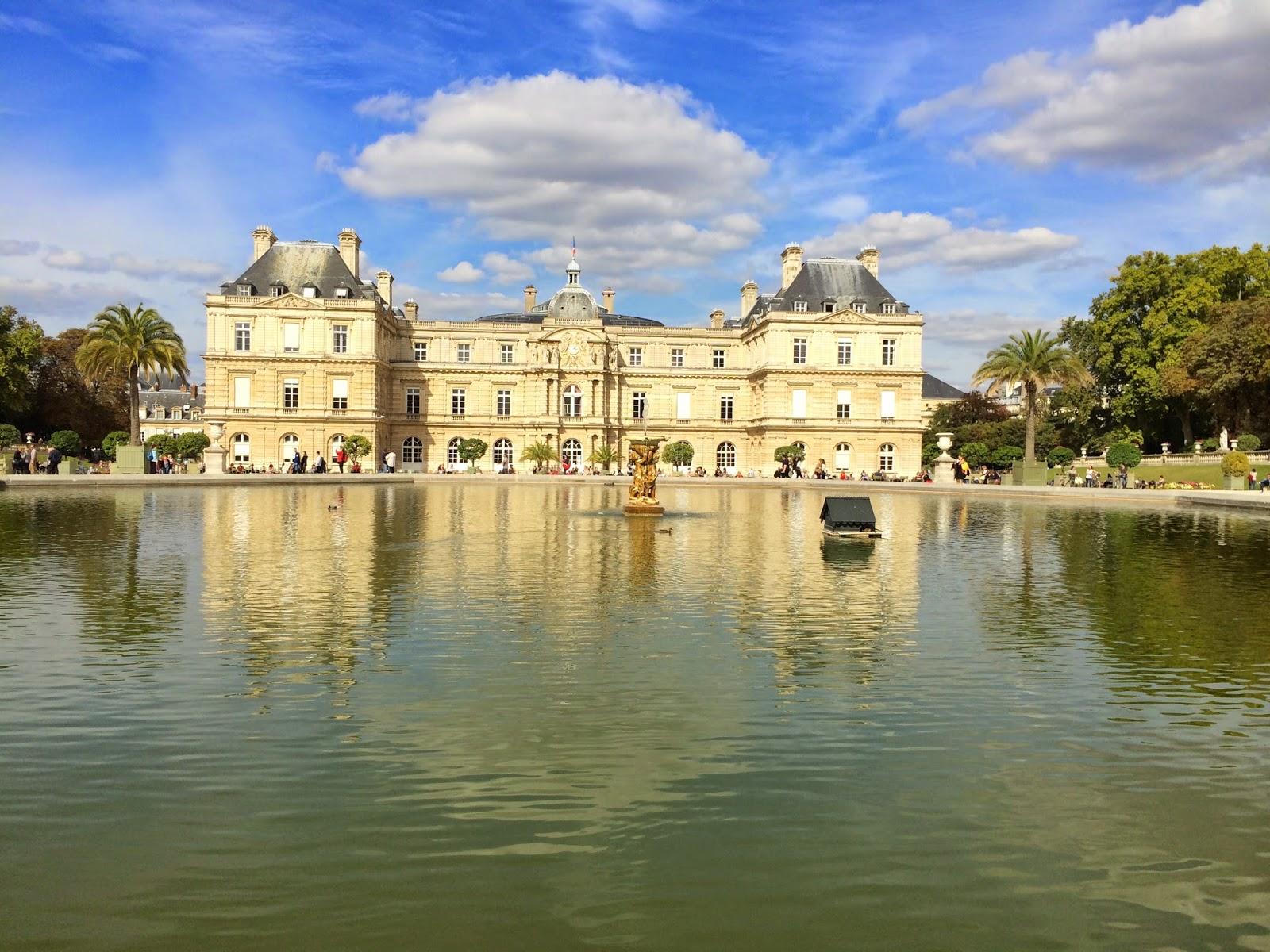 Luxemburg bahçesi müze