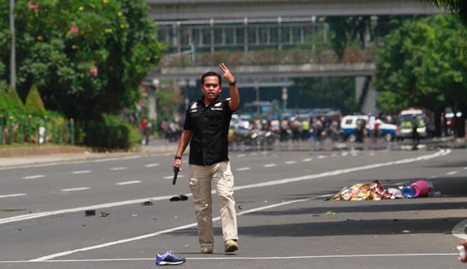 Foto-Foto Exclusif Tragedi Bom Sarinah | MENOREH TINTA