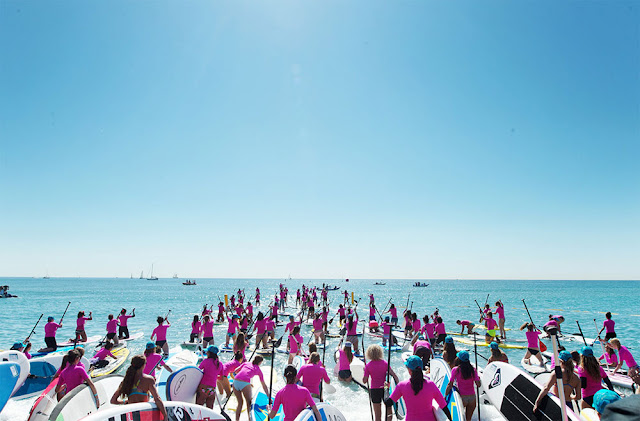 Roxy, stand up paddle, yoga, course, marseille
