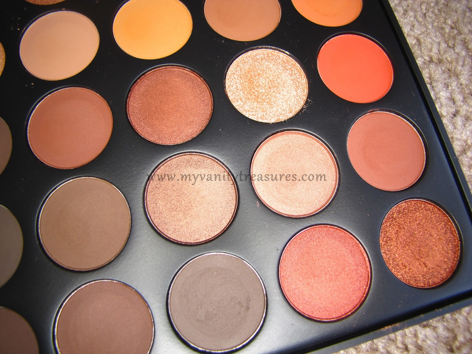 Morphe O  Color Nature Glow Eyeshadow Palette Review