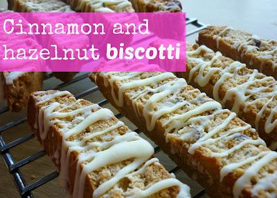 My sugar coated life...: Cinnamon and hazelnut biscotti