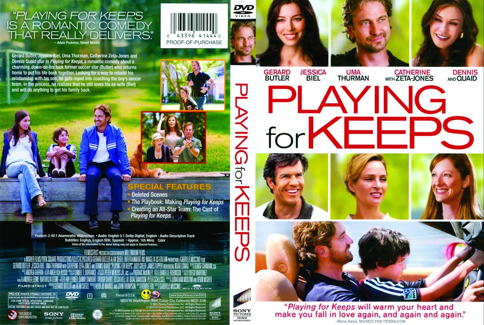Playing For Keeps - DVD FULL LATINO