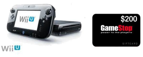 Win new Wii U & $200 GameStop GC