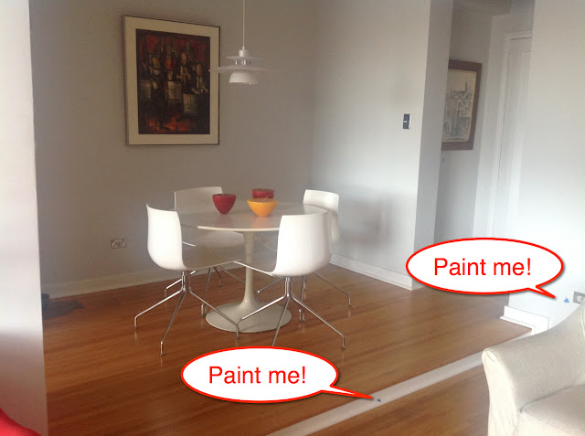 Cheater's Guide to Touching Up Wall Paint