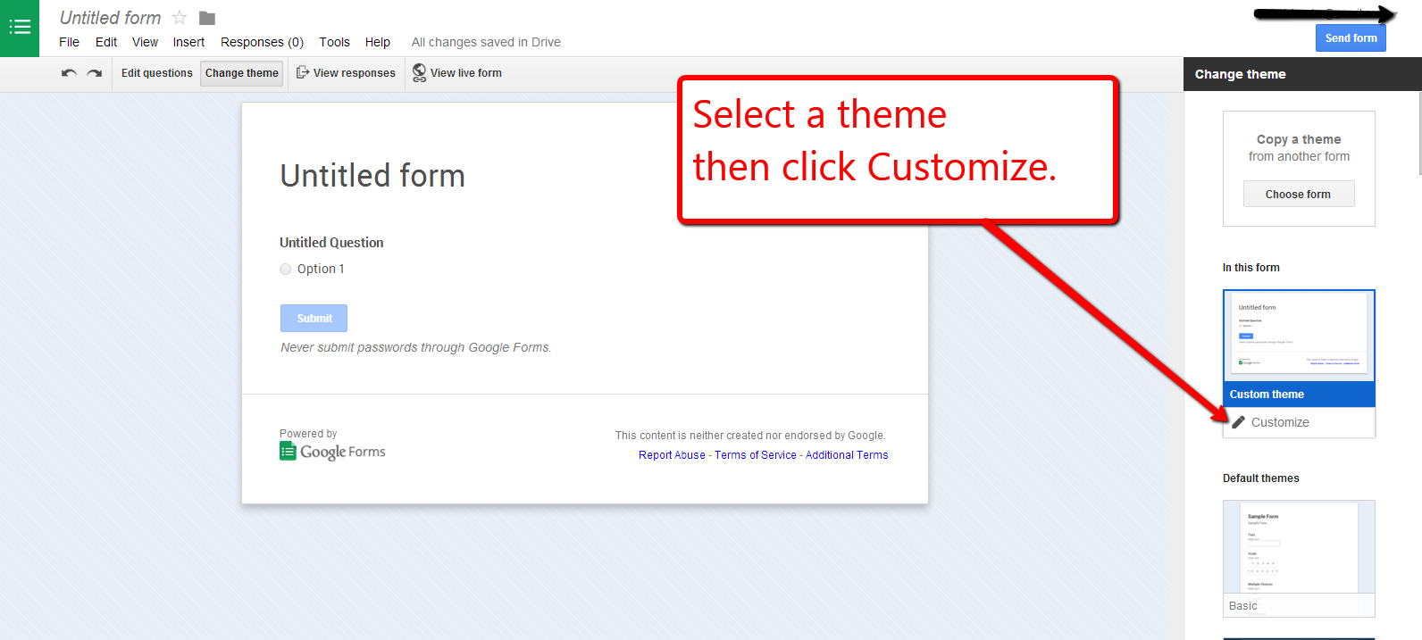 Google themes default - Click Image To View Full Size