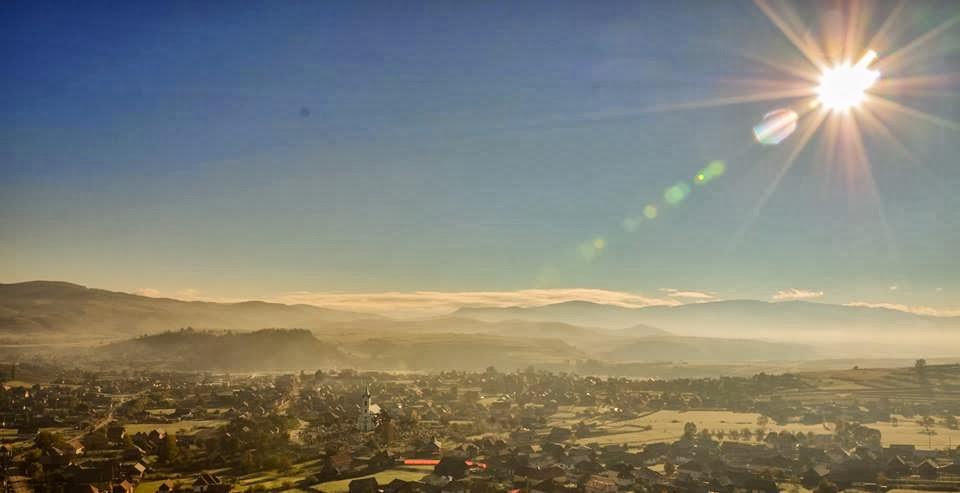 Dimineață de octombrie. Foto: Claudiu Mureșan