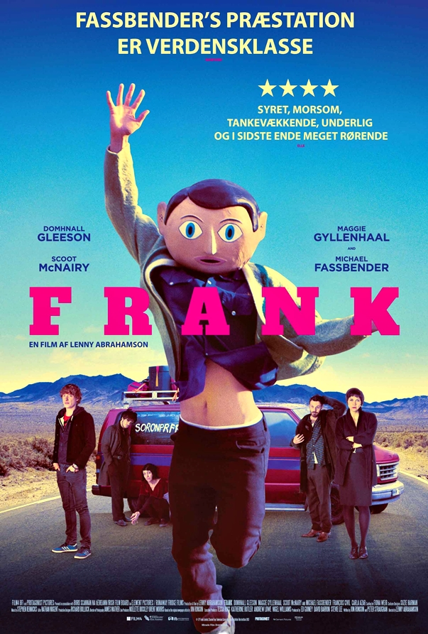 Frank, de Lenny Abrahamson poster