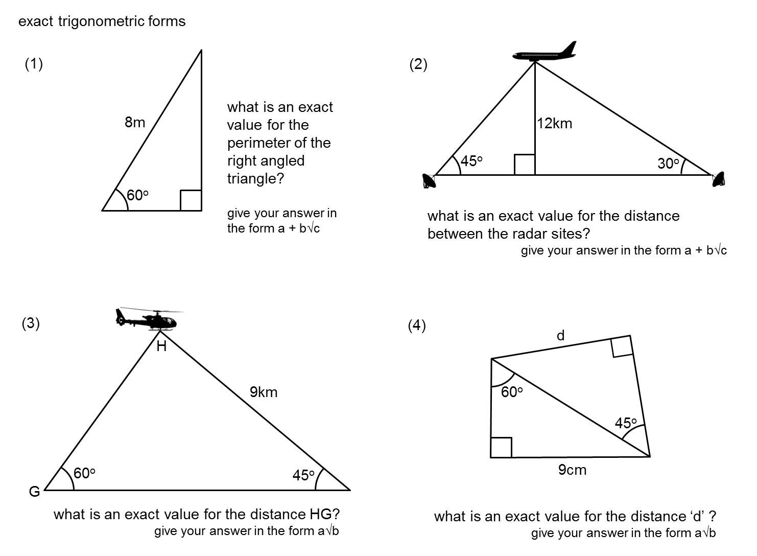 median don steward mathematics teaching exact trigonometric values. Black Bedroom Furniture Sets. Home Design Ideas