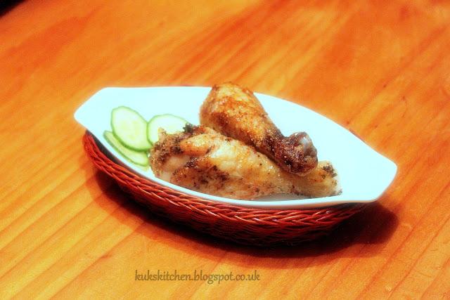 Thattikkuttu baked chicken: featuring Schwartz Italian seasoning