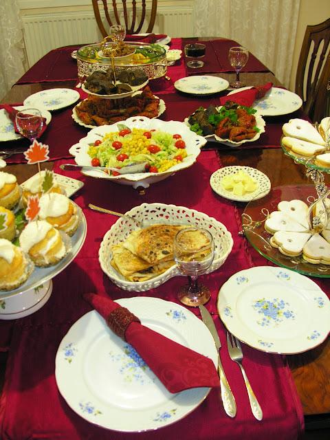 Özel Günler İçin Masalarımız, Öğünler Sabah Kahvaltısı