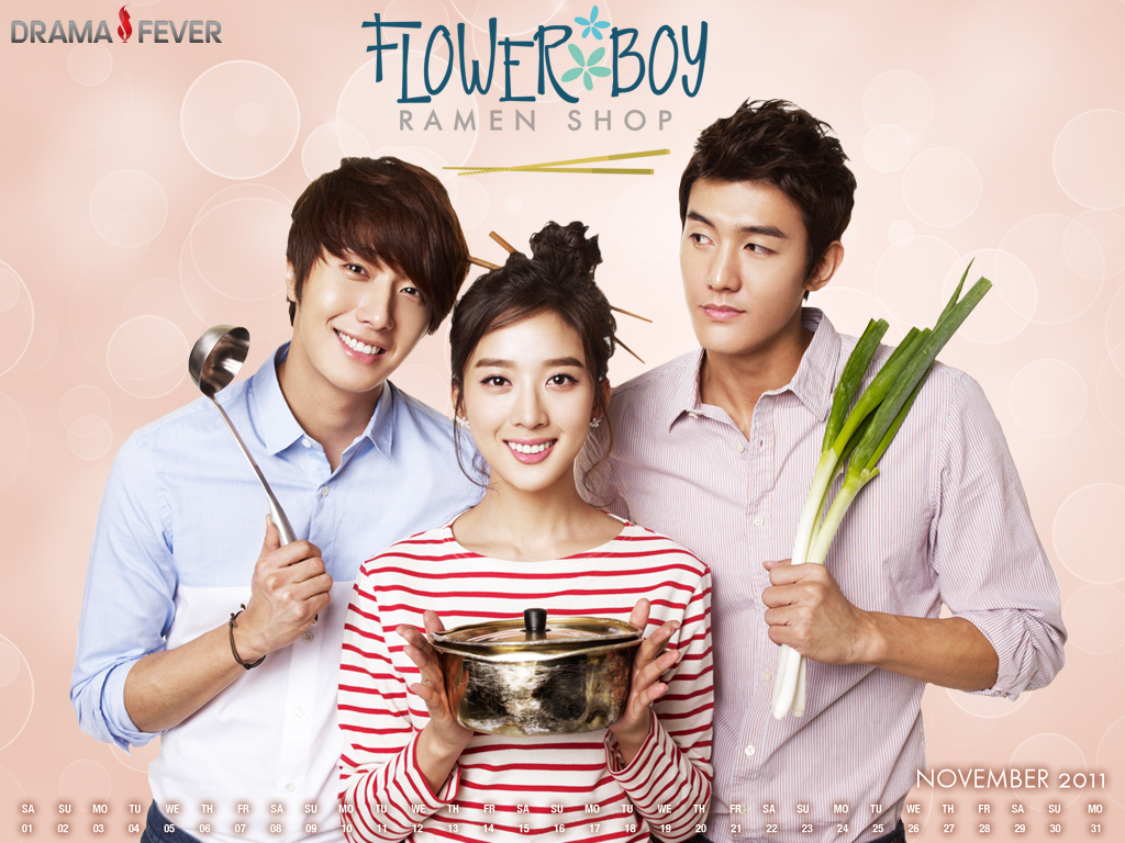 Flower boy ramyun shop dating