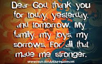 giving thanks to God always.