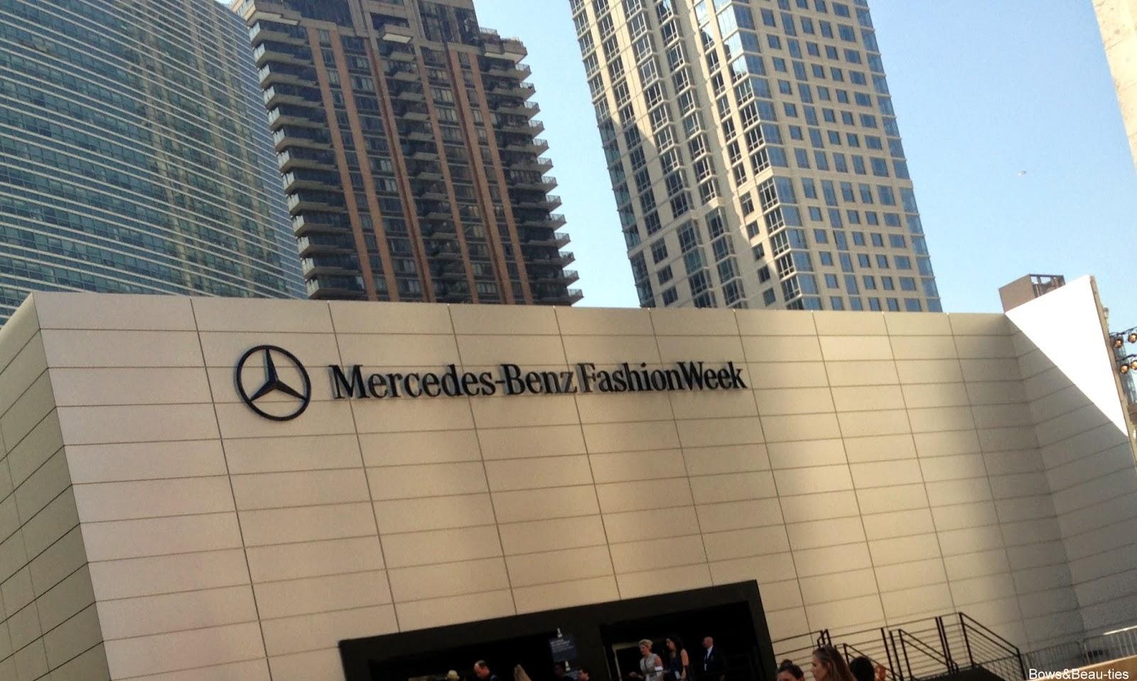 NYFW, Mercedes Benz, Bowsandbeau-ties, ss15, fashion