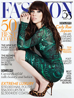Carly Rae Jepsen - Fashion Canada October 2012