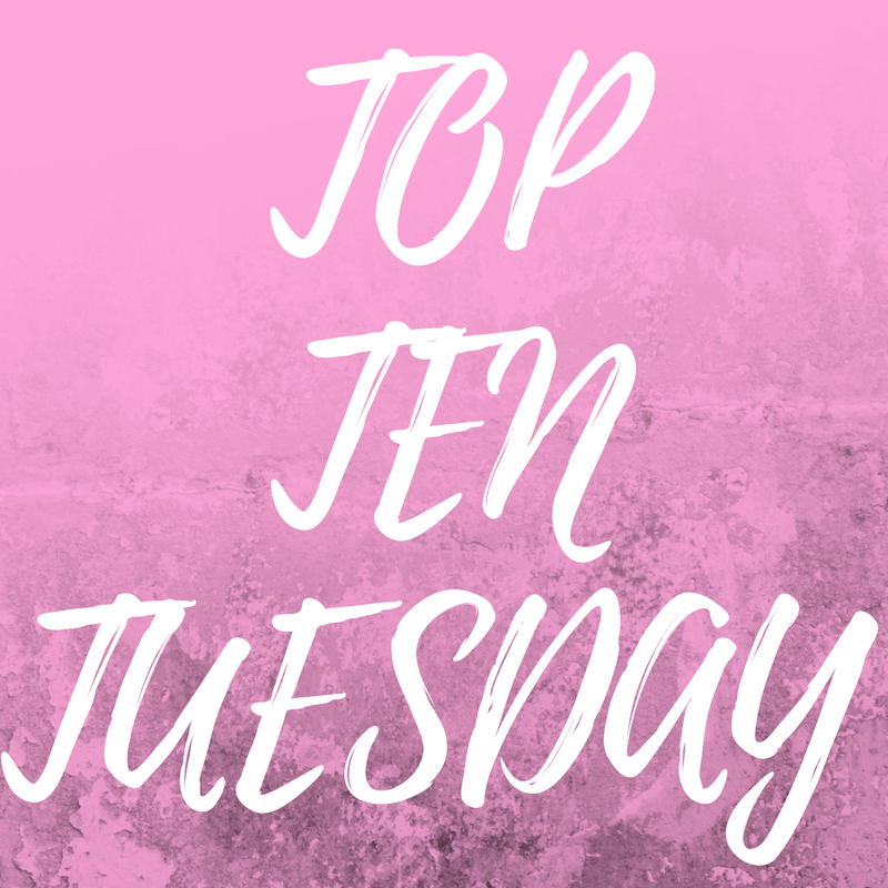 TOP TEN BOOKS IN MY SPRING TBR