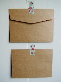 Packpapierbraune Couverts, 12,5x17,5cm