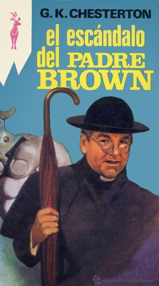 Portada del libro el escándalo del padre brown descargar epub y pdf