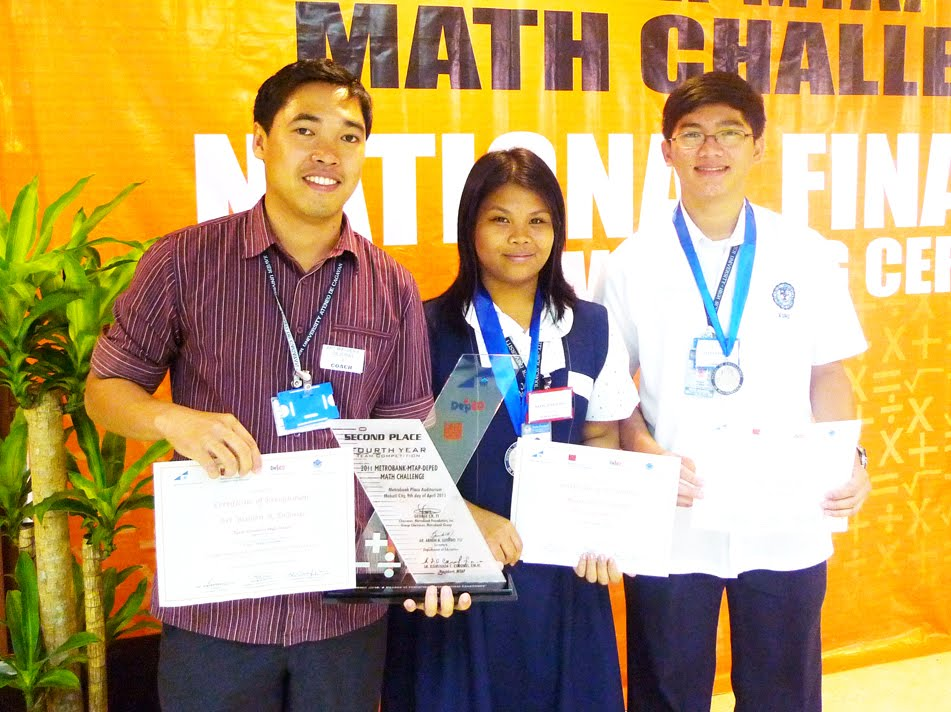 the metrobank math challenge The metrobank foundation, inc (mbfi), together with the department of education (deped) and the mathematics teachers association of the philippines (mtap), announced the schools which made it to the national finals of the 2013 metrobank-mtap-deped challenge (mmc) to be held on april 13, at the metrobank.