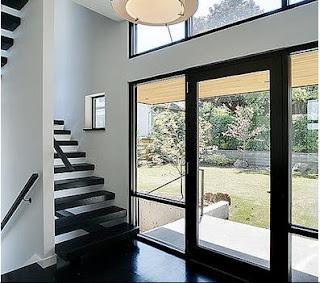 Fotos y dise os de ventanas puertas de entrada en aluminio for Disenos en aluminio