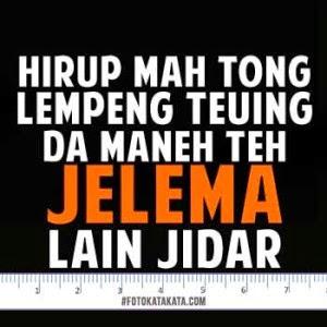 DP BBM Bahasa Sunda Lucu dan Keren Terbaru 2016