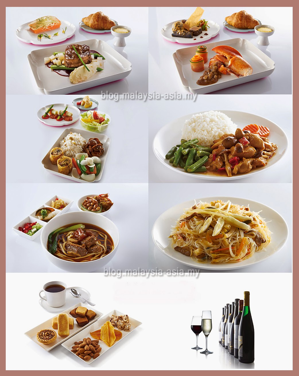 Inflight Menu China Airlines