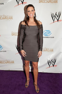 Stephanie McMahon Pictures in Short Dress at WWE 2014 Superstars for Kids ~ Celebs Next