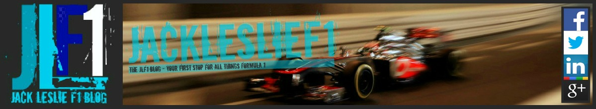 JackLeslie's F1 Blog