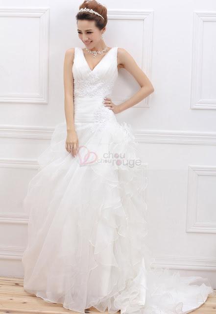chouchourouge  robes de mari u00e9e en soldes  une s u00e9lection printani u00e8re glamour et romantique